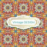 antike, Vintage Hintergrund Azulejos in portugiesischen Fliesen Stil. vektor