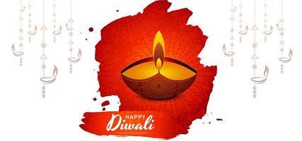 glücklicher diwali Festivalhintergrund