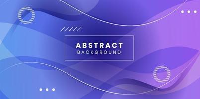Vektor abstrakter eleganter lila Hintergrund