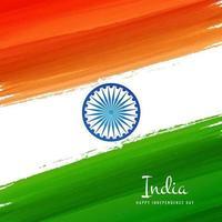 Hintergrund der indischen Flagge vektor