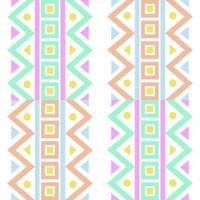 sömlös flerfärgad bakgrundsmönster med geometrisk form