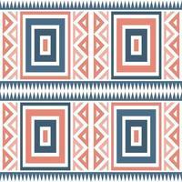 nahtloser mehrfarbiger nativer Musterhintergrund