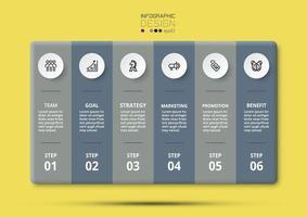 Marketing und Geschäftsplanung 6 Arbeitsschritte, Planung und Berichterstattung.