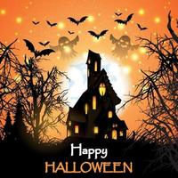 Halloween Spukhaus Design