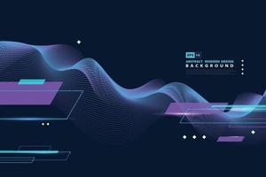 abstraktes futuristisches Design von Sportthemaelementen Dekorationsdesign. Illustrationsvektor eps10 vektor
