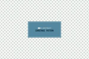 abstrakte blaue Weihnachten fallender Schneekreis Muster nahtloses Design minimaler Dekorationshintergrund. Illustrationsvektor