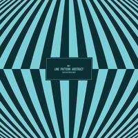 abstrakt blå ton av minimala randlinje mönster täcka design bakgrund. illustration vektor