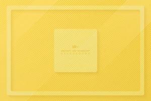 abstrakt gul randlinje mönster bakgrund. illustration vektor