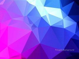 geometrischer Dreieck-Polygonhintergrund vektor
