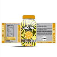 Flaschenetikett, Verpackungsvorlagen-Design, Etiketten-Design, Modell-Design-Etiketten-Vorlage