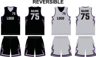 reversible Trikotshorts in Basketballuniform