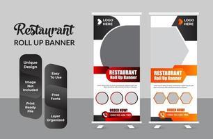 Roll-up-Banner-Design-Vorlage moderne X-Banner-Set vektor