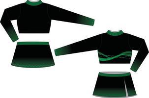 Jubel Uniform Mock Ups Vorlagen sublimiert vektor