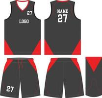 kundenspezifische Basketballuniformen Sporttrikotshorts vektor