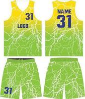 kundenspezifisches Design Basketball T-Shirt Uniform Kit