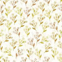 sömlös fabic mönster bakgrund med flerfärgad blomma