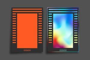 Farbverlauf und minimales Liniendesign für Hintergrund, Tapete, Flyer, Poster, Broschürenumschlag, Typografie oder andere Druckprodukte. Vektorillustration vektor