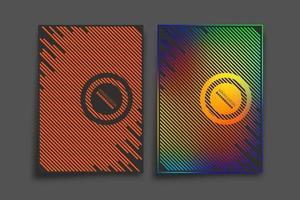 Farbverlauf und minimales Liniendesign für Hintergrund, Tapete, Flyer, Poster, Broschürenumschlag, Typografie oder andere Druckprodukte. Vektorillustration