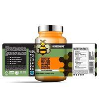 Honigflaschenetikett, Verpackungsschablonendesign, Etikettendesign, Modelldesignetikettenvorlage vektor