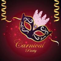 karneval platt koncept party design