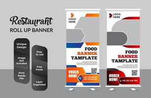 Roll-up-Banner-Design-Vorlage moderne X-Banner-Set