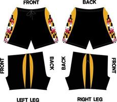 Shorts Design Modelle vektor