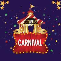 Karnevalsfeier vektor