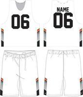 Lacrosse Trainingsuniform Shorts sublimiert vektor