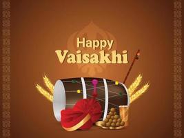 lycklig vaisakhi punjabi festival fest