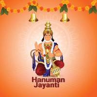 Hanuman Jayanti Feier Hintergrund