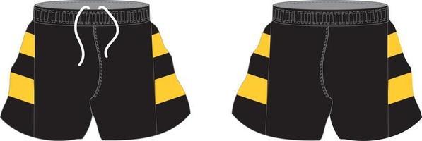 anpassad design rugby sublimerade shorts