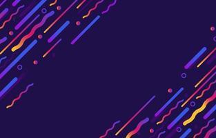 abstrakte Verlaufslinie formt Hintergrund vektor