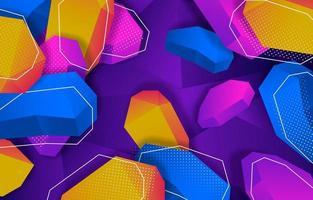 bunter abstrakter Hintergrund vektor