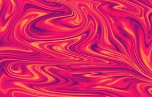 fließende Tintenlandschaft aus rotem Marmor vektor