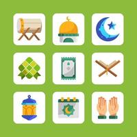eid mubarak ikon insamling