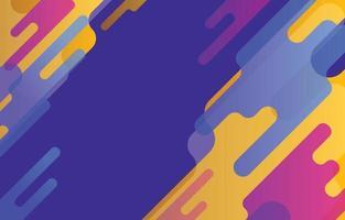 abstrakte Formen Hintergrund vektor