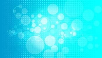 blauer Sanny Strahlenhintergrund. funkelnde magische Staubpartikel. Vektorillustration.