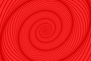abstrakter roter Spiralhintergrund vektor