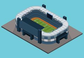 Isometrisches Fußballstadion