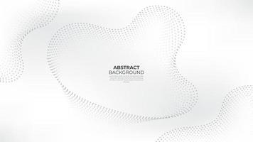 vita abstrakta prickar backrgound. vit abstrakt vågigt pappersskuren bakgrund. kostym för företag, företag, institution, fest, fest, seminarium och samtal. vektor