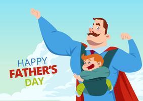 Superhero pappa