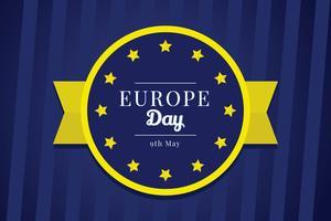 Europa-Tag-Vektor vektor