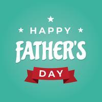 Glad fars dag vektor