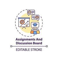uppdrag och diskussionsforum konceptikon