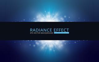 Radiance Vector Background, redigerbar mall