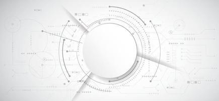 abstrakter 3d Designhintergrund mit Technologiepunkt- und Leitungsplatinenbeschaffenheit. modernes technisches, futuristisches, wissenschaftliches Kommunikationskonzept. Vektorillustration vektor
