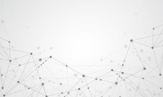 internetanslutning abstrakt känsla för vetenskap och teknik grafisk design bakgrund. vektor illustration