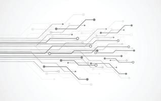 abstrakt bakgrund med teknik kretskort konsistens. elektronisk moderkortillustration. kommunikation och teknik koncept. vektor illustration