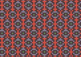 Native Square Pattern Bakgrund vektor