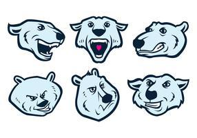 Freie Eisbären Logo Vector